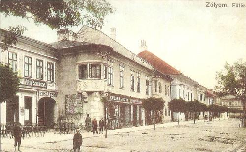 Nám. v r. 1910